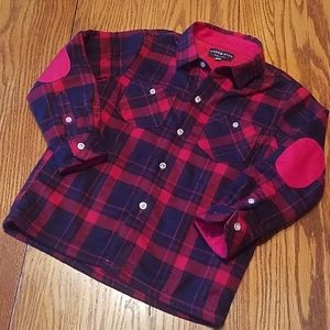 NWOT Andy & Evan thick flannel shirt